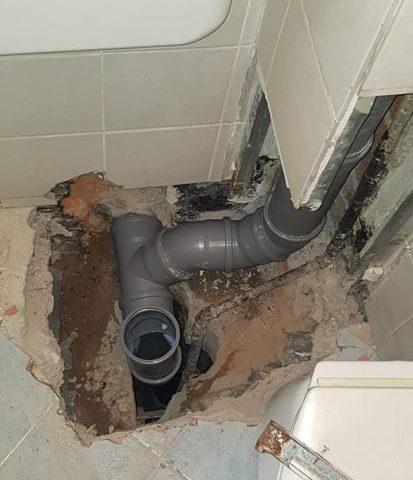 Zamjena kanalizacijske cijevi